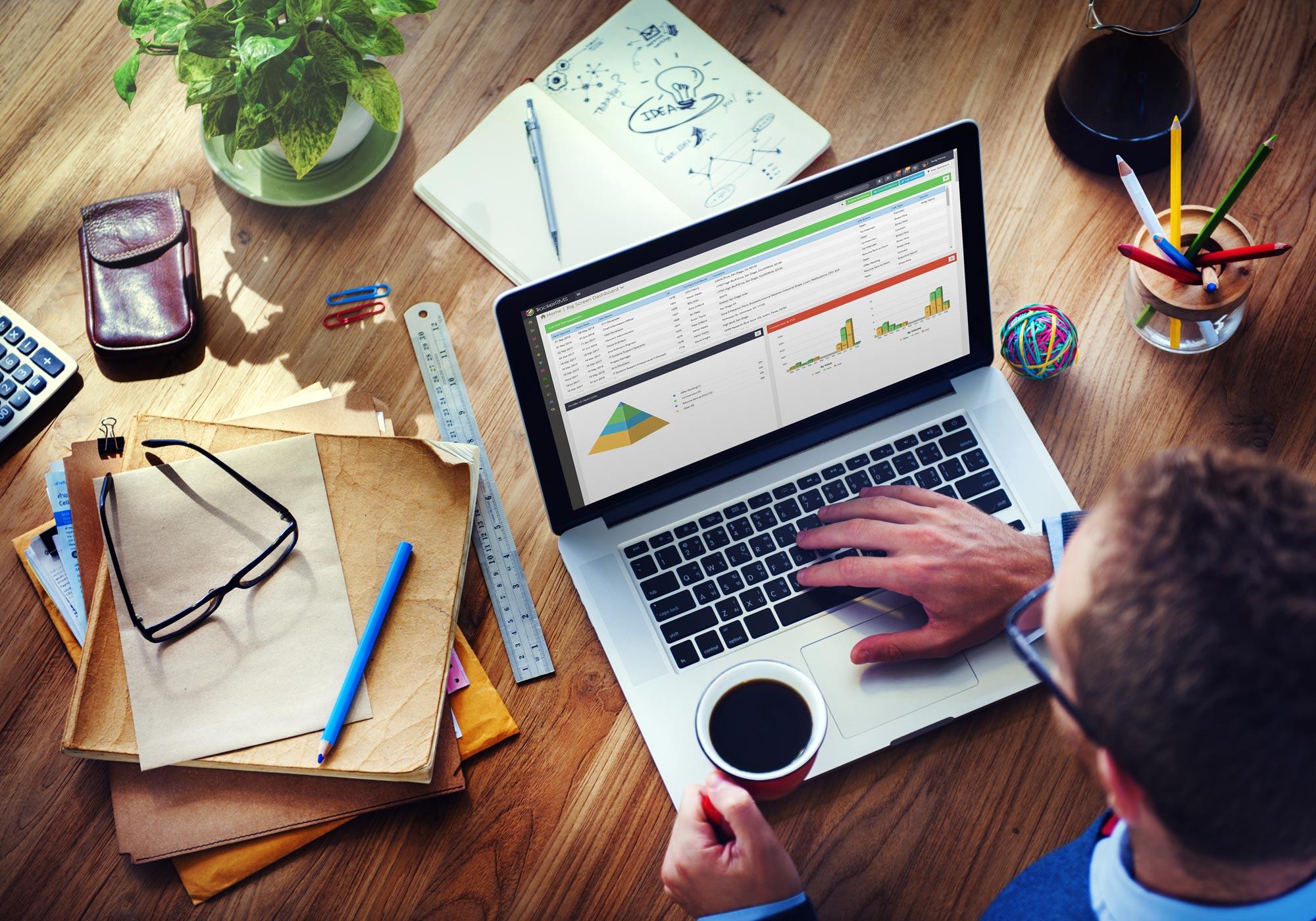 Demo of Tracker Recruitment Software