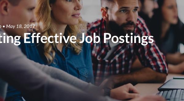 Creating Effective Job Postings