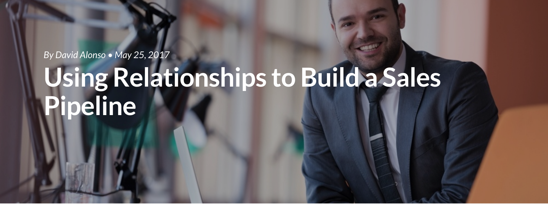 Using Relationships to Build a Sales Pipeline
