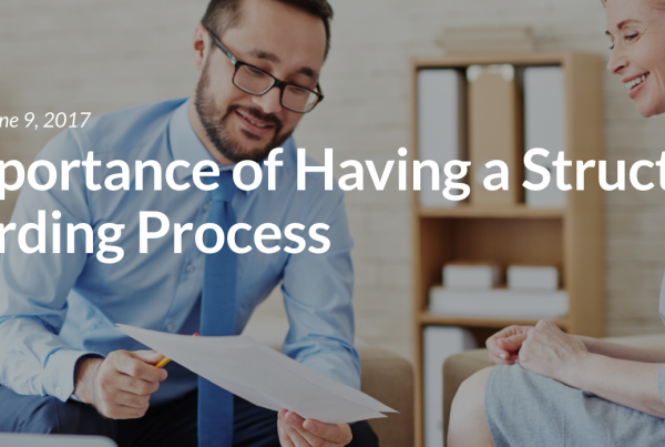 The Importance of Having a Structured Onboarding Process