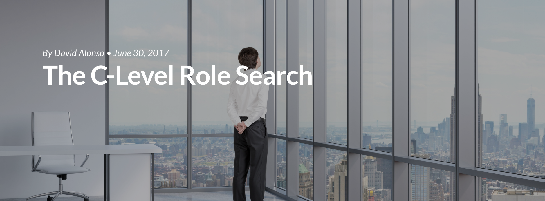 The C-Level Role Search