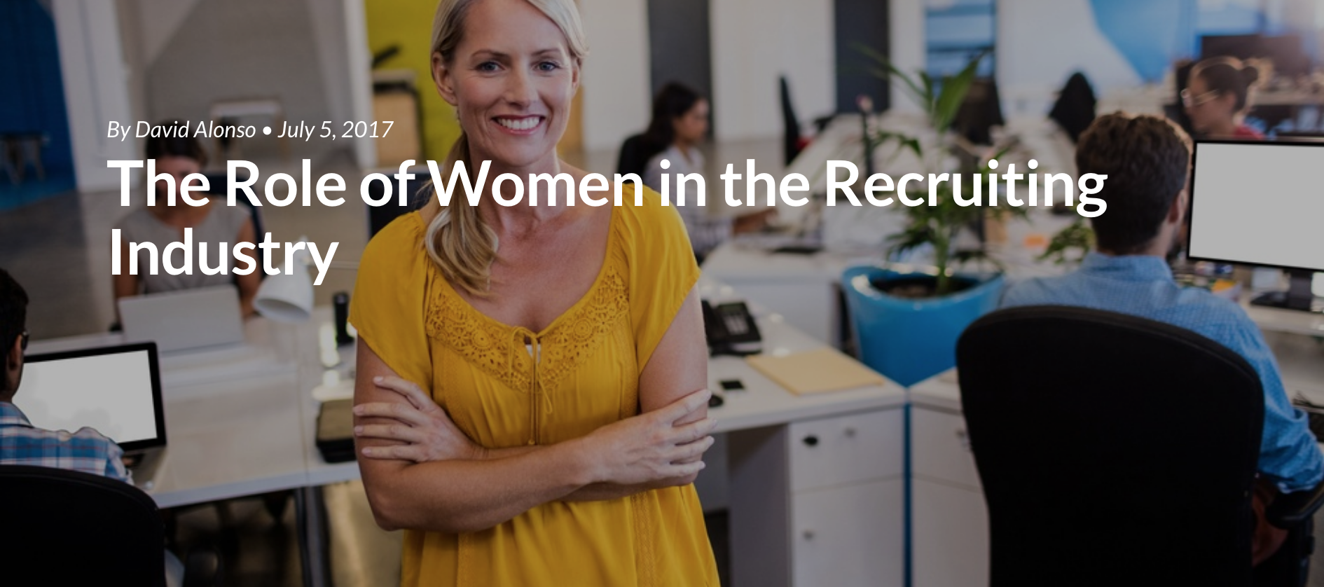 The Role of Women in the Recruiting Industry