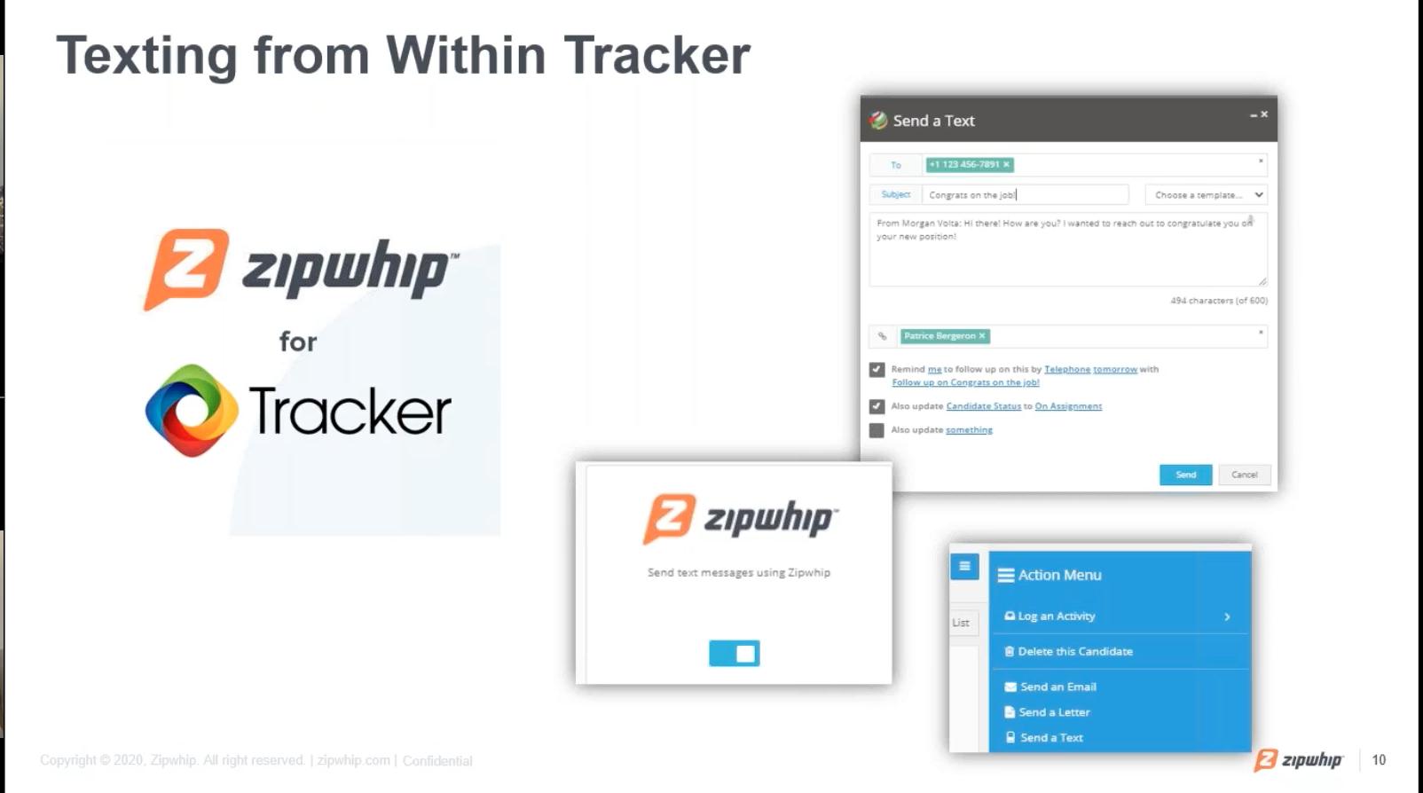 ZipWhip for Tracker Video Webinar
